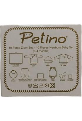 Petino Bebek 10 Parça Hastane Çıkışı Araba Desenli