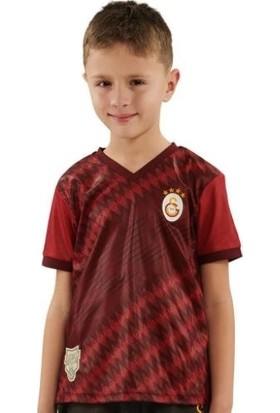 Galatasaray Lisanslı Omuz Omuza Çocuk Tshirt Beyaz Umbro Şort Takım