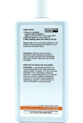 Valet Pro Microfibre Reviver Mikrofiber Bez Yıkama Şampuanı 500ML.