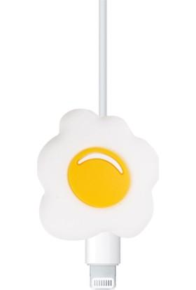 Happycase Sevimli Şarj Kablo Koruyucu Figürlü Kablo Omlet