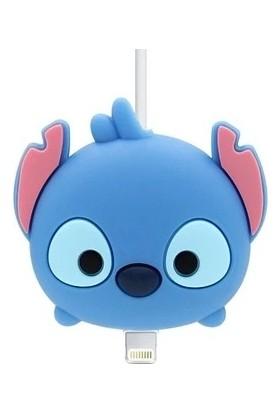Happycase Sevimli Şarj Kablo Koruyucu Figürlü Kablo Stitch