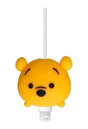 Happycase Sevimli Şarj Kablo Koruyucu Figürlü Kablo Pooh