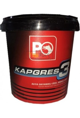 Petrol Ofisi Kap Gres No.3 Kalsiyum Esaslı Kırmızı 1 kg