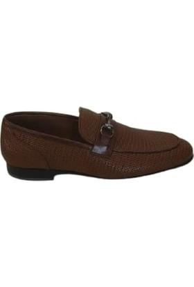 Kemal Tanca Deri Kösele Taban Erkek Ayakkabı Taba 04850