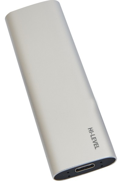 Hı-Level H-Slım 256GB Speed Up To 530MB/S USB 3.2 Gen 2 Type-C Portable SSD HLV-HSLIM/256