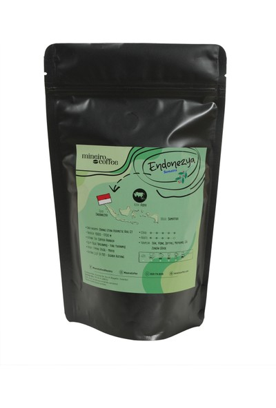 Mineiro Coffee Endonezya Sumatra (Yenı)