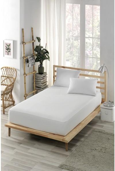 Ely Parker 70X140 Yatak Saran Sıvı Geçirmez Alez Yatak Koruyucu Pamuklu Fitted