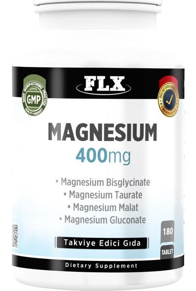 FLX Magnezyum Bisglisinat Malat Taurat Glukonat 180 Tablet
