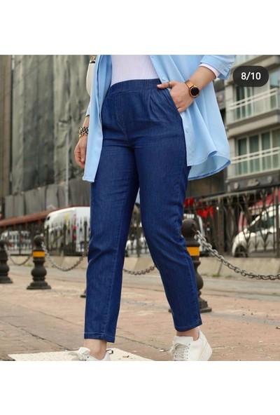 Banuhan Tensel Kot Düz Paça Pantolon