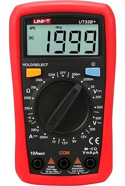 Unı-T UT33B+ Multimetre
