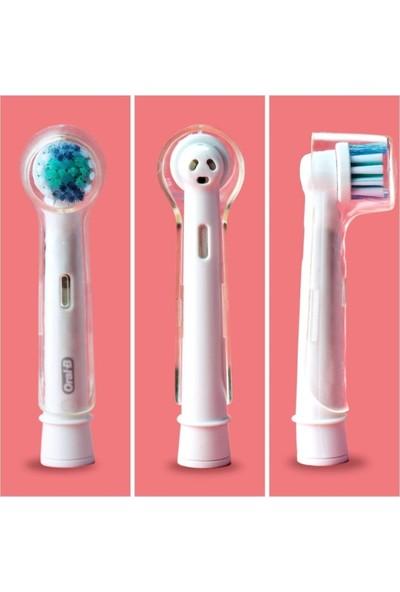 Lovyco Oral-B Diş Fırçası Başlıkları Için Koruma Kapağı 2 Adet