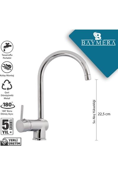 Baymera Delta Serisi Kuğu Mutfak Bataryası