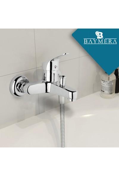 Baymera Cosmo Mix Banyo Bataryası - Harmony White El Duş Seti