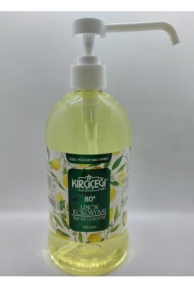 Kırçiçeği Limon Kolonyası 80 Derece 700 ml