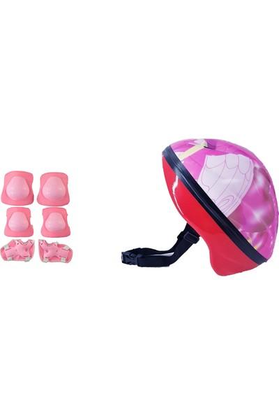 Oyuncakavm Oyuncak Avm Çocuk Cindy Paten Bisiklet Koruyucu Kask Dizlik Dirseklik Full Set