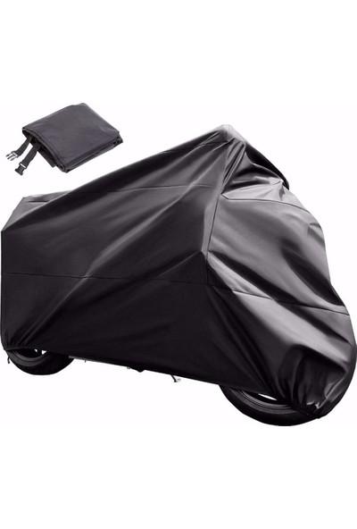 East Branda Suzuki V-Strom DL650 Uyumlu Siyah Motosiklet Branda / Motor Branda