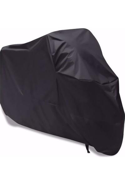 East Branda Stmax Nova 100 Uyumlu Siyah Motosiklet Branda / Motor Branda