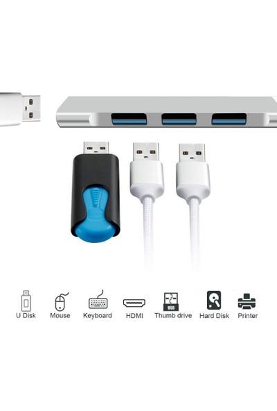 Badatrend 4 Port USB 3.1 Hub Çevirici Çoğaltıcı Type C Çoklayıcı