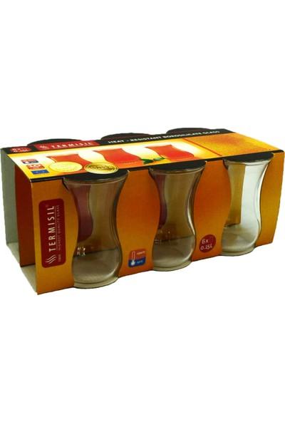 Termisil Ince Cam Çay Bardağı 6 Adet