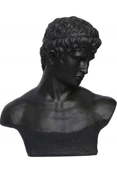 Le Atölye Eskitme Büst Siyah