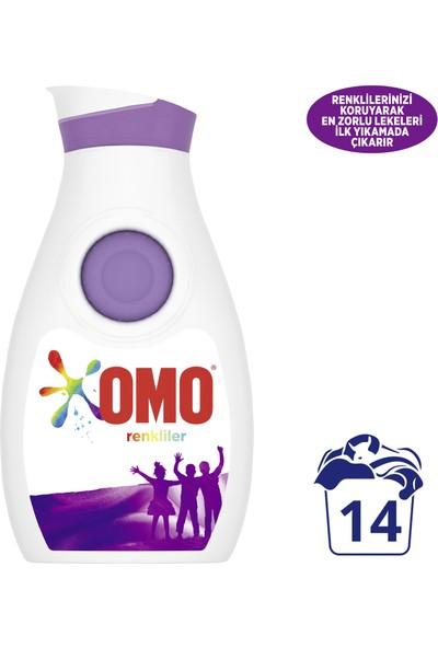 Omo Renkliler Sıvı Çamaşır Deterjanı 910 ML 14 Yıkama