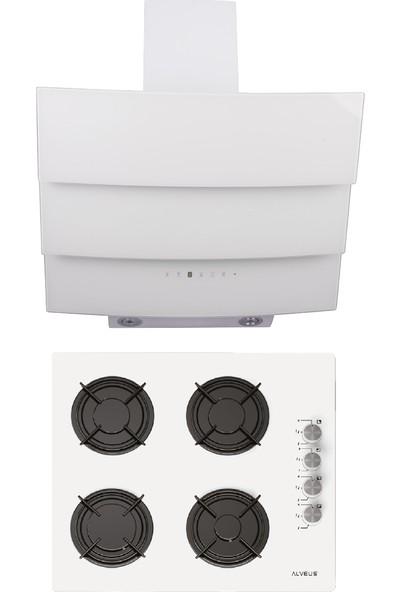 Alveus Shıny Beyaz 2'li Ankastre Set MODW-GLS640