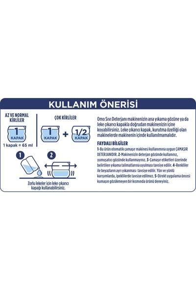Omo Siyahlar Sıvı Çamaşır Deterjanı 910 ML 14 Yıkama