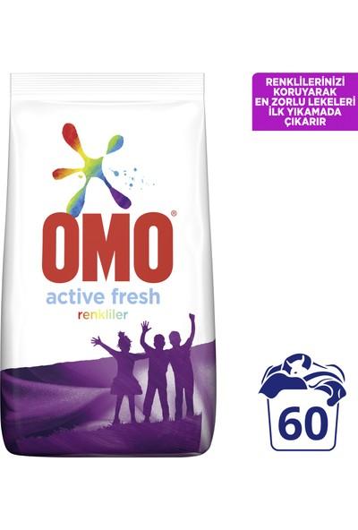 Omo Active Fresh Toz Çamaşır Deterjanı Renkliler 9 KG 60 Yıkama