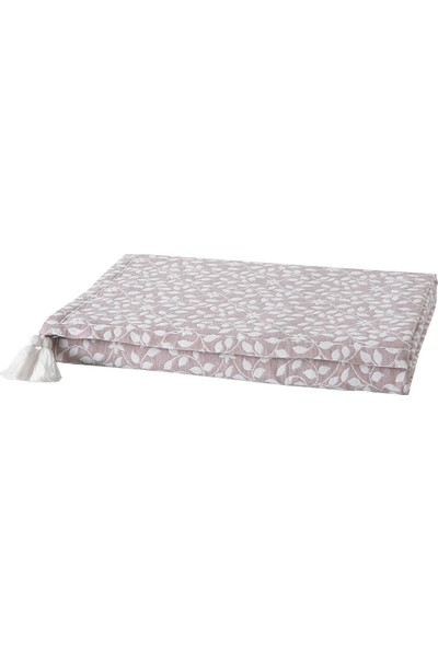 Yataş Bedding Foglia Pamuklu Yatak Örtüsü Jakarlı Çok Amaçlı Örtü Lila (Çift Kişilik - 220X240 Cm)