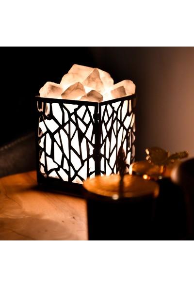 Kaunas Tuz Lambası - Gece lambası - Masa Lambası - Dekoratif Aydınlatma