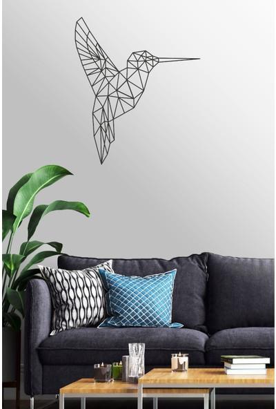 Antdesign 3mm Mdf Lazer Kesim Geometrik Arı Kuşu Temalı Dekoratif Tablo 85 x 100