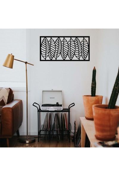 Antdesign 3mm Mdf Lazer Kesim Yaprak Temalı Dekoratif Tablo 50 x 25