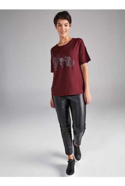 Faik Sönmez Şehir Taş Baskılı T-Shirt 61640