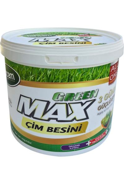 Bahçem Green Max Granül 10KG Çim Besini 3 Günde Güçlü Etki