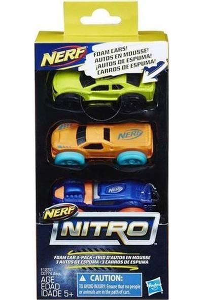 Nerf Nitro Yumuşak Araba 3lü Paket E1237