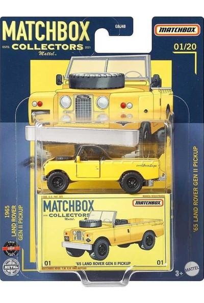 Matchbox Premium Arabalar 65 Land Rover Gen 2 Pickup GRK16