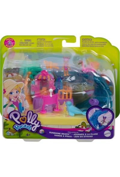 Polly Pocket Pollyvılle Gün Işığı Plajı Oyun Seti GTM68