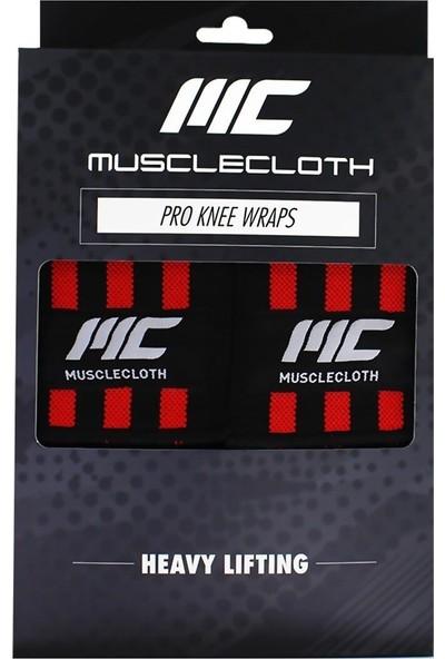 Musclecloth Pro Knee Wraps Diz Bandajı 2'li Paket