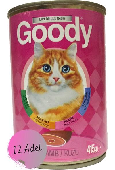 Goody Kuzu Etli Kedi Konserve Maması 12 x 415 gr