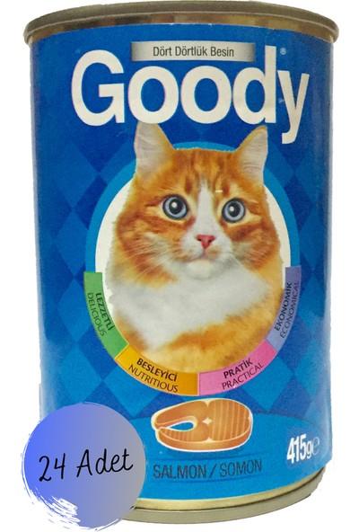 Goody Somonlu Kedi Konserve Maması 24 x 415 gr