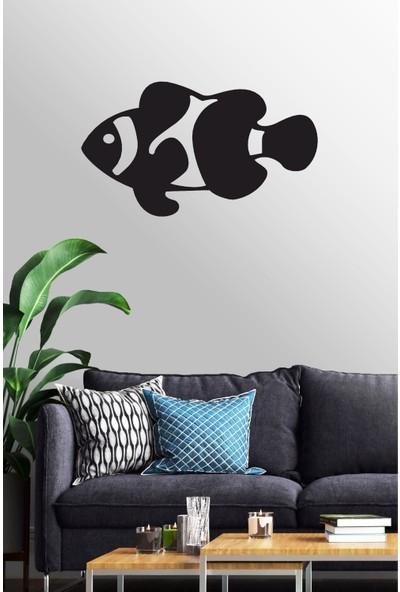 Antdesign 3mm Mdf Lazer Kesim Palyaço Balığı Temalı Dekoratif Tablo 85 x 50