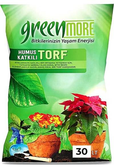 Greenmore Green More Kullanıma Hazır Torf Humus Katkılı Bi̇tki̇ Toprağı 30 Litre