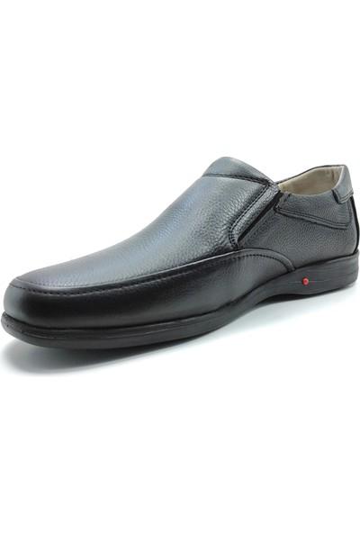 Artmen Hakiki Deri Siyah Makosen Erkek Comfort Günlük Ayakkabı 1030200
