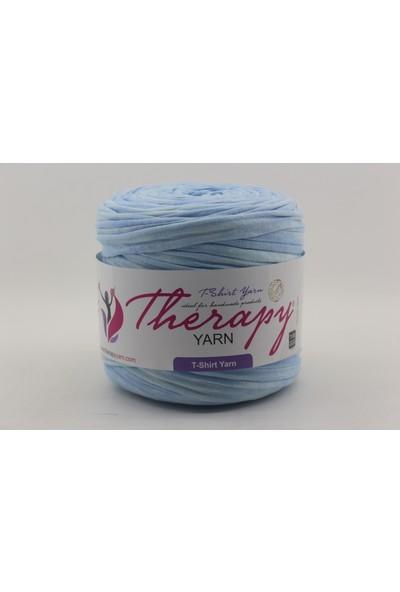 Therapy Yarn Mavılı Renk Geçiş Desenli Penye Ip