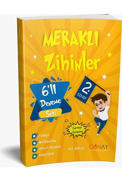 Günay Yayınları 2.Sınıf Meraklı Zihinler Etkinlikli Tüm Dersler Soru Bankası