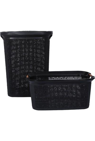 Woow Kirli Sepeti ve Çamaşır Sepeti - Plastik Sepet