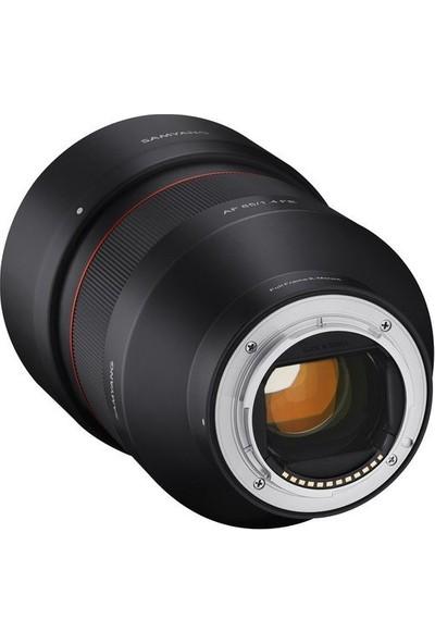 Samyang Ggt Af 85MM F / 1.4 Fe Sony E Mount
