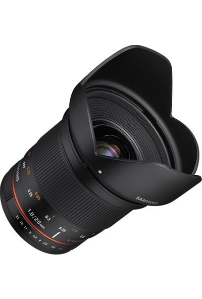 Samyang Ggt 20MM F/1.8 Ed As Umc Lens (Sony E)