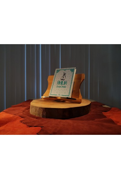 Efkare Art Ahşap Kitap Okuma Telefon ve Tablet Standı