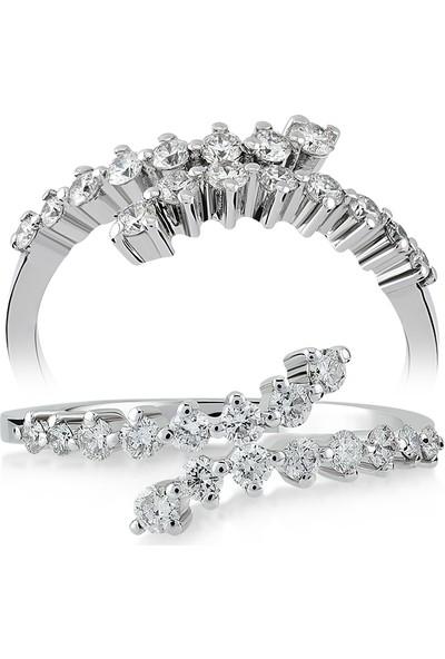 D Diamond 0,35 Karat Pırlanta Altın Yüzük